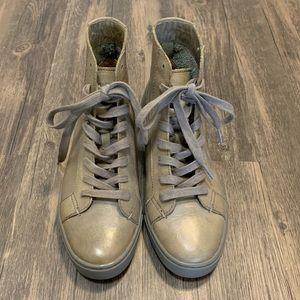 FRYE brand new high top sneakers